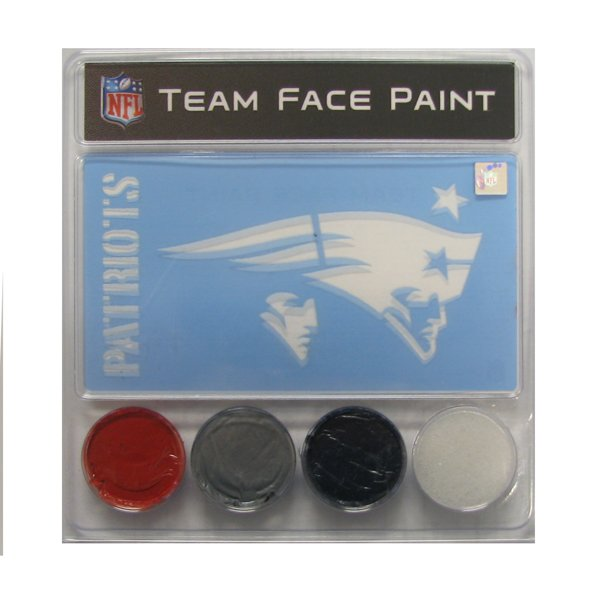 Patriots Face Paint Kit