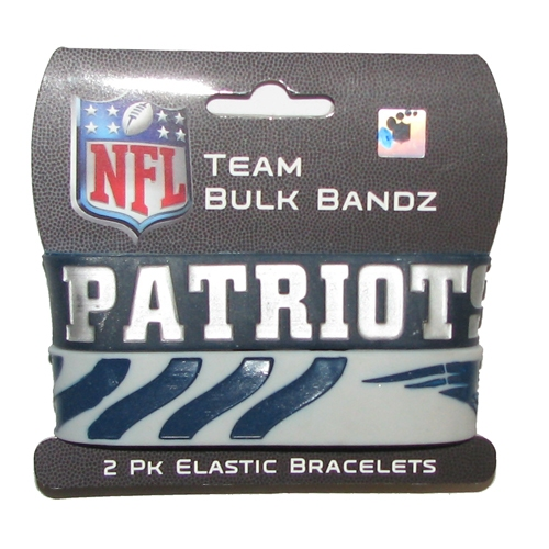 Patriots Bulk Bands 2 PacK