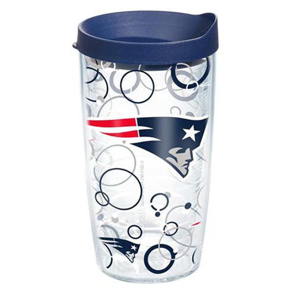Patriots Tervis Bubble 16oz Tumbler