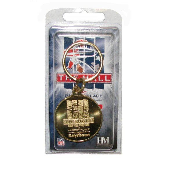 The Hall Bronze Coin Keychain