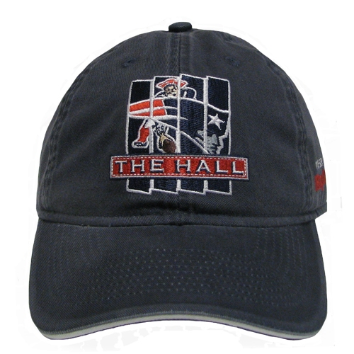 The Hall Slouch Cap-Navy