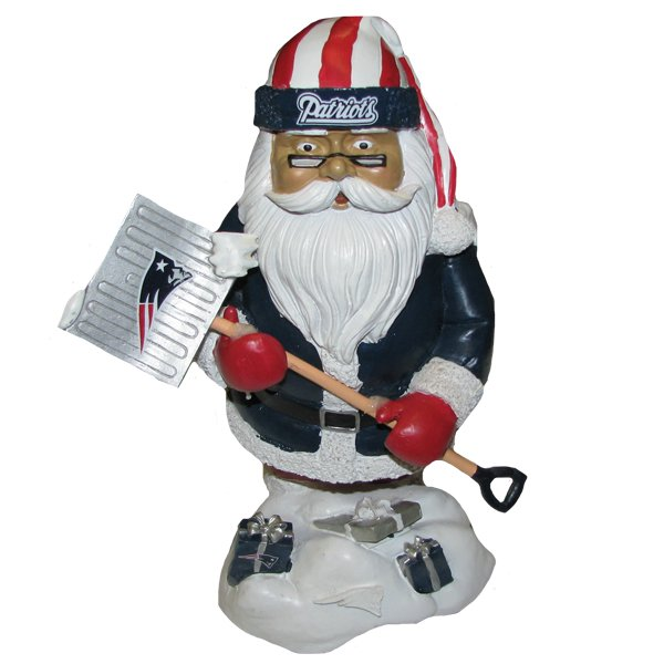 Patriots Thematic Santa Figure