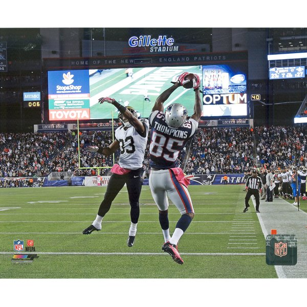 Kenbrell Thompkins Touchdown 8x10 Carded Photo