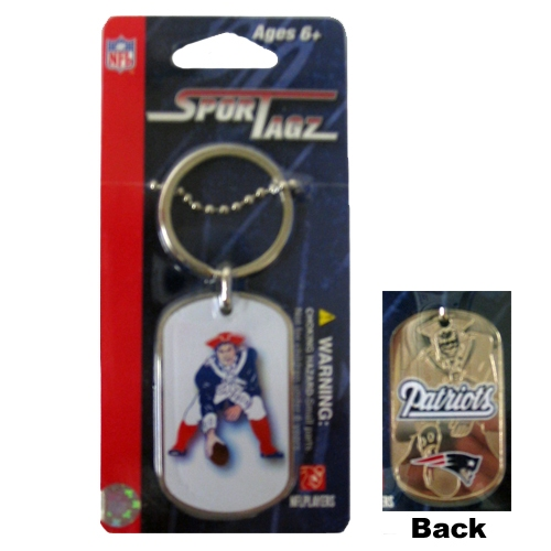 Patriots Throwback Dog Tag