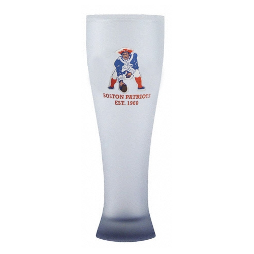 Boston Patriots 23oz Pilsner Glass