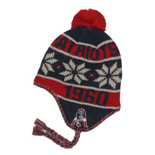 Throwback Tassel Knit Hat