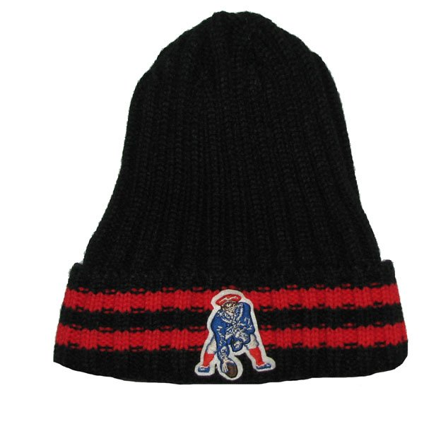 Patriots Throwback 47 Brand Melbourne Knit Hat