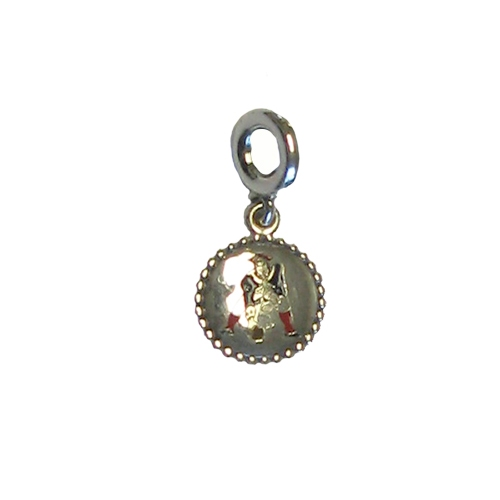 Pandora Patriots Throwback Silver Dangle Charm