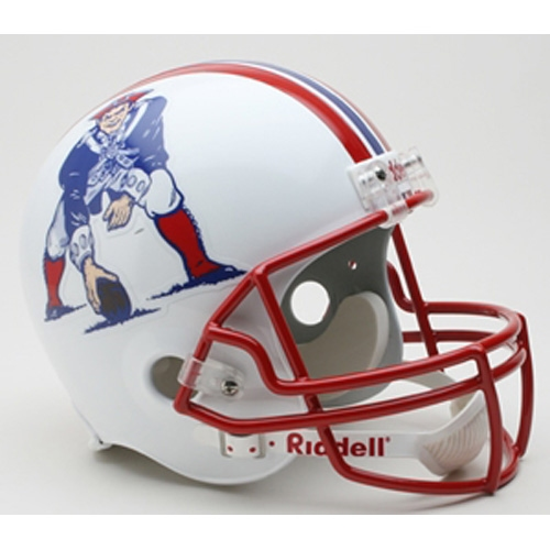 Patriots Fullsize Throwback Replica Helmet