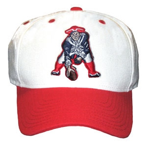 Structured Throwback Cap-White/Red