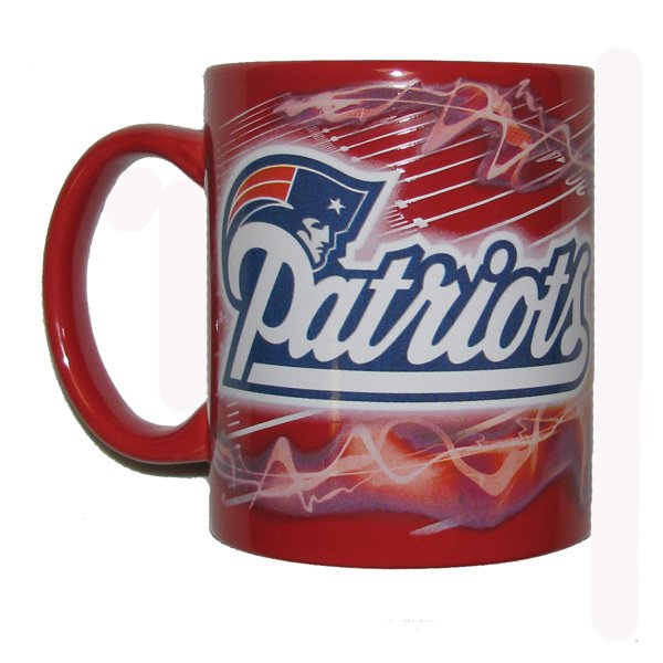 Patriots 11oz Sublimated Mug-Red