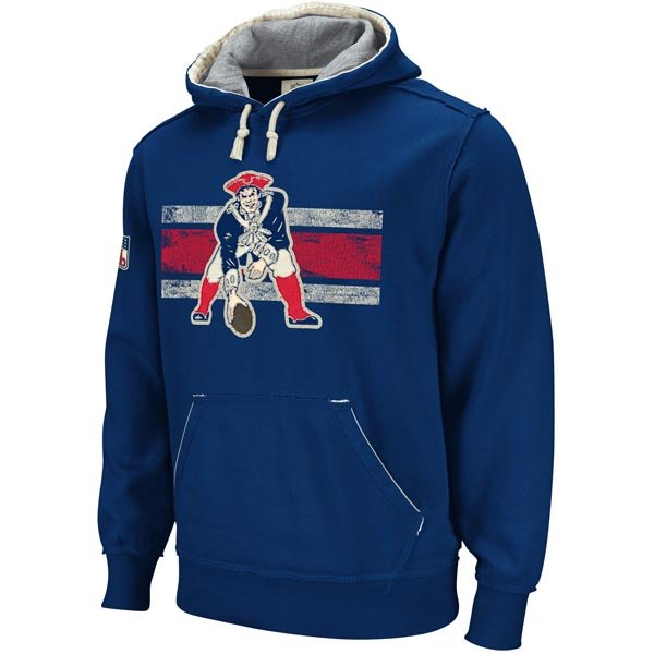 Throwback Vintage Pullover Hood-Navy