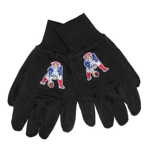 Patriots Throwback Work Gloves