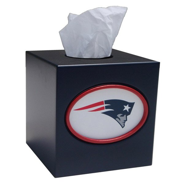 Patriots Logo Tissue Box Cover