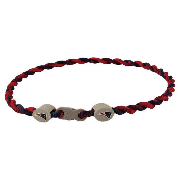 Patriots Twisted Titanium Necklace