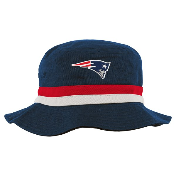 Toddler Patriots Bucket Cap-Navy