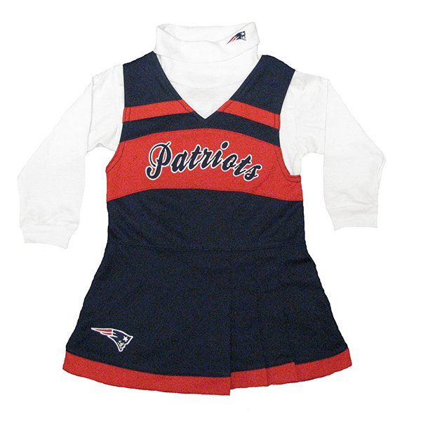 Patriots Toddler Cheer Jumper