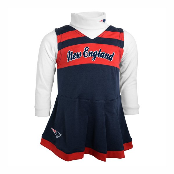Patriots Toddler Cheer Jumper