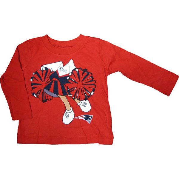 Toddler Dream Job Long Sleeve Tee-Red