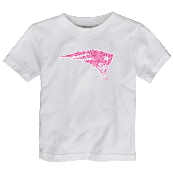 Toddler Girls Word Play Tee-White