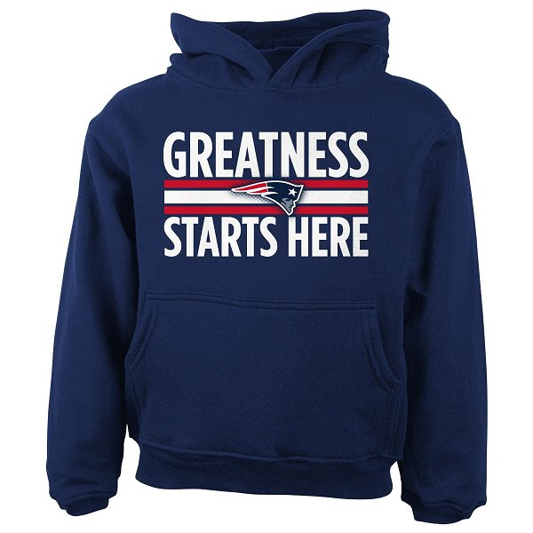 Toddler Greatness Hood-Navy