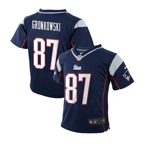 Toddler Nike Rob Gronkowski Jersey-Navy