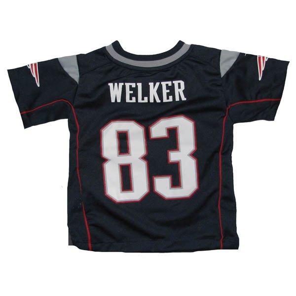 Toddler Nike Wes Welker Game Jersey-Navy