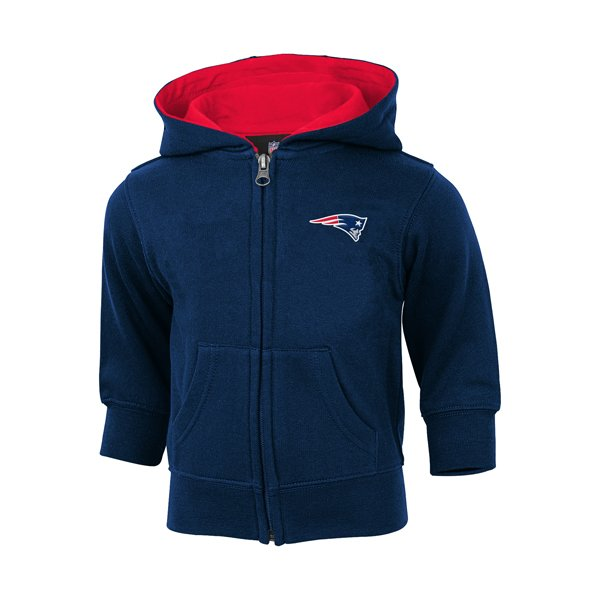 Toddler Prime Full Zip Hood-Navy