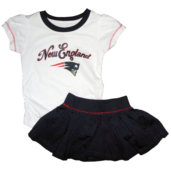 Toddler Short Sleeve Top+Skirt Set