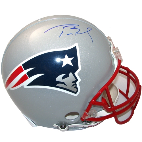 Tom Brady Signed Authentic Helmet
