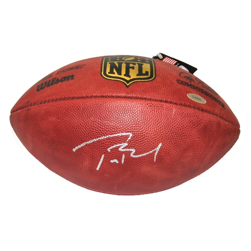 Tom Brady Signed Official NFL Football