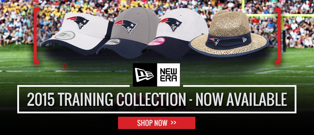 2015 New Era Training Hats - Desktop Slide