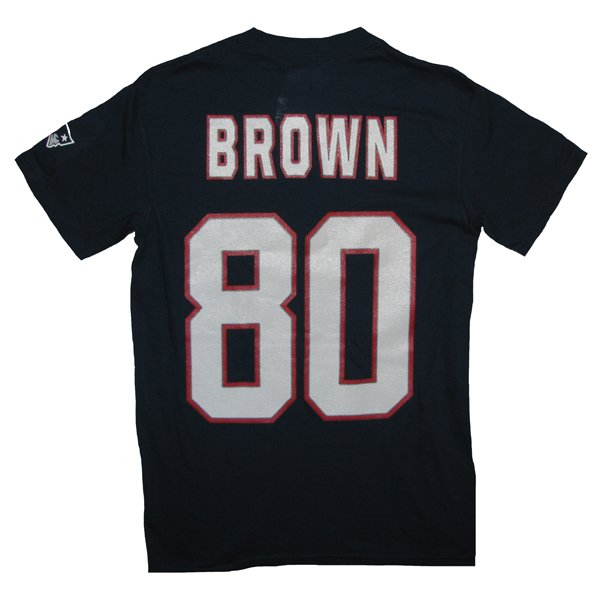 Troy Brown Name & Number Tee