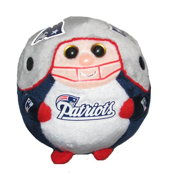 Patriots 5 Inch Beanie Balls