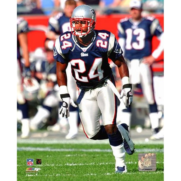 Ty Law 8x10 Carded Photo