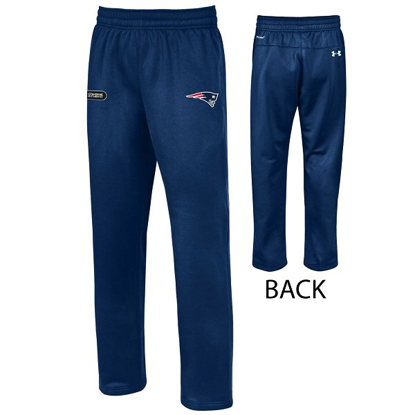 NFL Combine Armour Fleece Pants-Navy