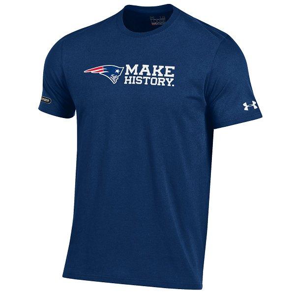 NFL Combine Make History Tee-Navy
