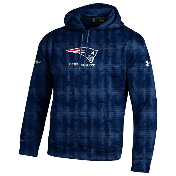 NFL Combine Fleece Novelty Hood-Navy
