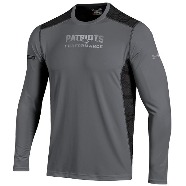 NFL Combine Raid Long Sleeve Tee-Gray