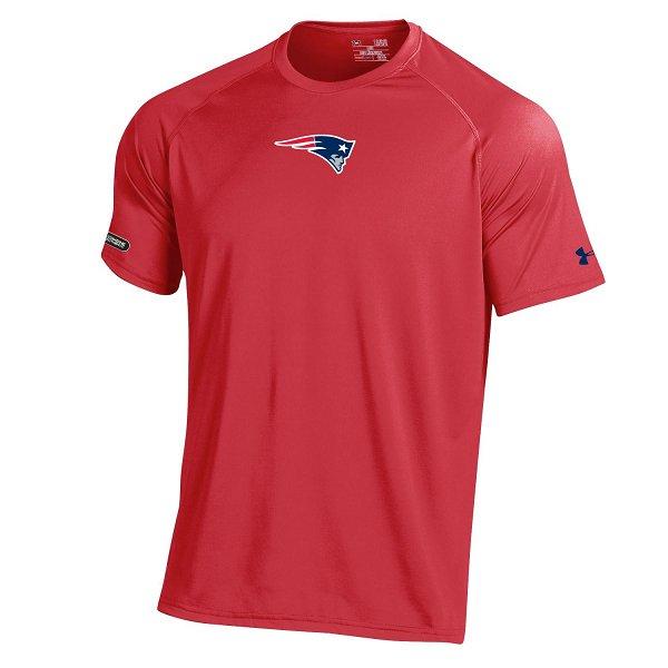 NFL Combine Tech Tee-Red