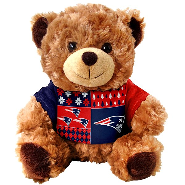Patriots Ugly Sweater Bear