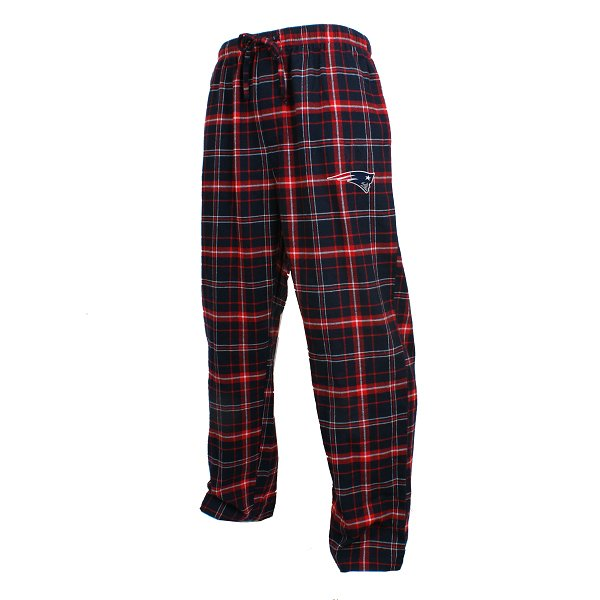 Patriots Ultimate Flannel Pant-Navy/Red
