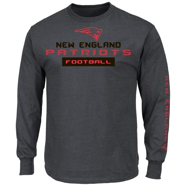 VF Best Team Long Sleeve Tee-Charcoal