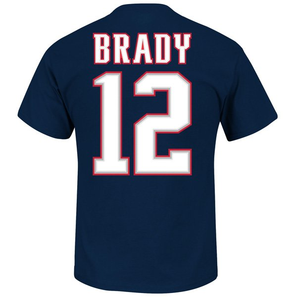 VF Tom Brady #12 Tee-Navy