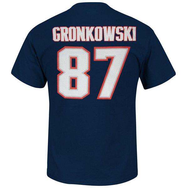 2013 VF Gronkowski Name & Number Tee