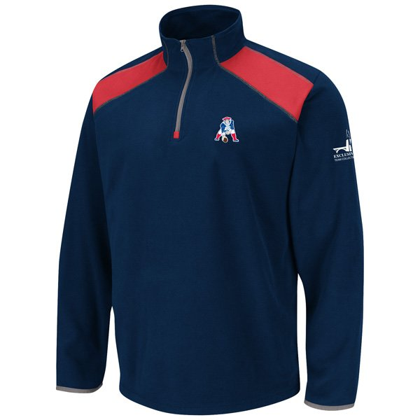 VF Throwback Fade Route Fleece Jacket-Navy/Red