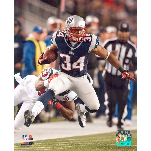 Shane Vereen 8x10 Carded Photo