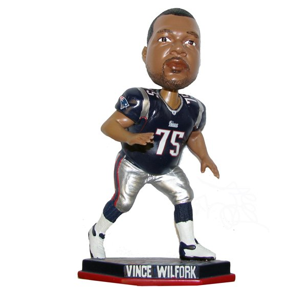Vince Wilfork Action Bobblehead