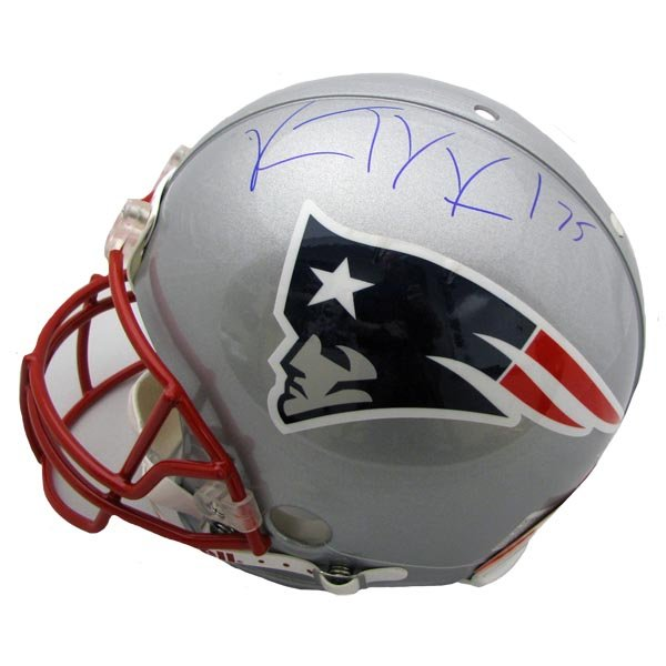 Vince Wilfork Signed Authentic Helmet