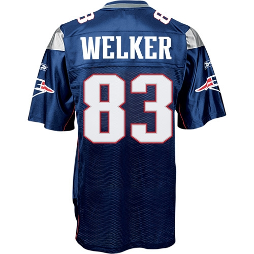 Wes Welker Equipment Replica Jersey
